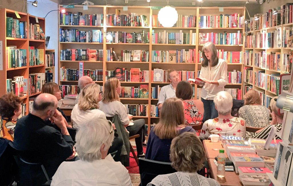 Nell Zink speaks at The English Bookstore, Stockholm